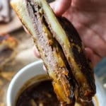 French Dip Grilled Cheese Sandwich is perfect for dinner, parties or game nights! Serve with the dipping sauce on the side and french fried onions for a nice crunch.