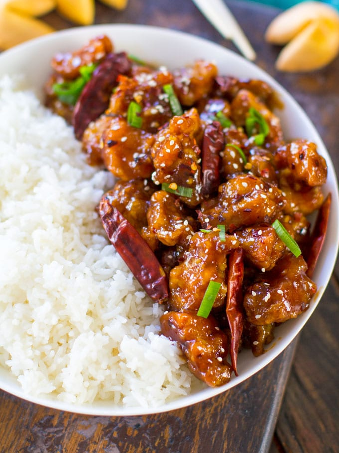 SWEET AND SPICY CHICKEN - 30minutesmeals.com
