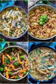30 Minute Pasta Recipes are the perfect weeknight dinners, easily made in just one pan. These dishes are tasty, full of flavor and hassle free.