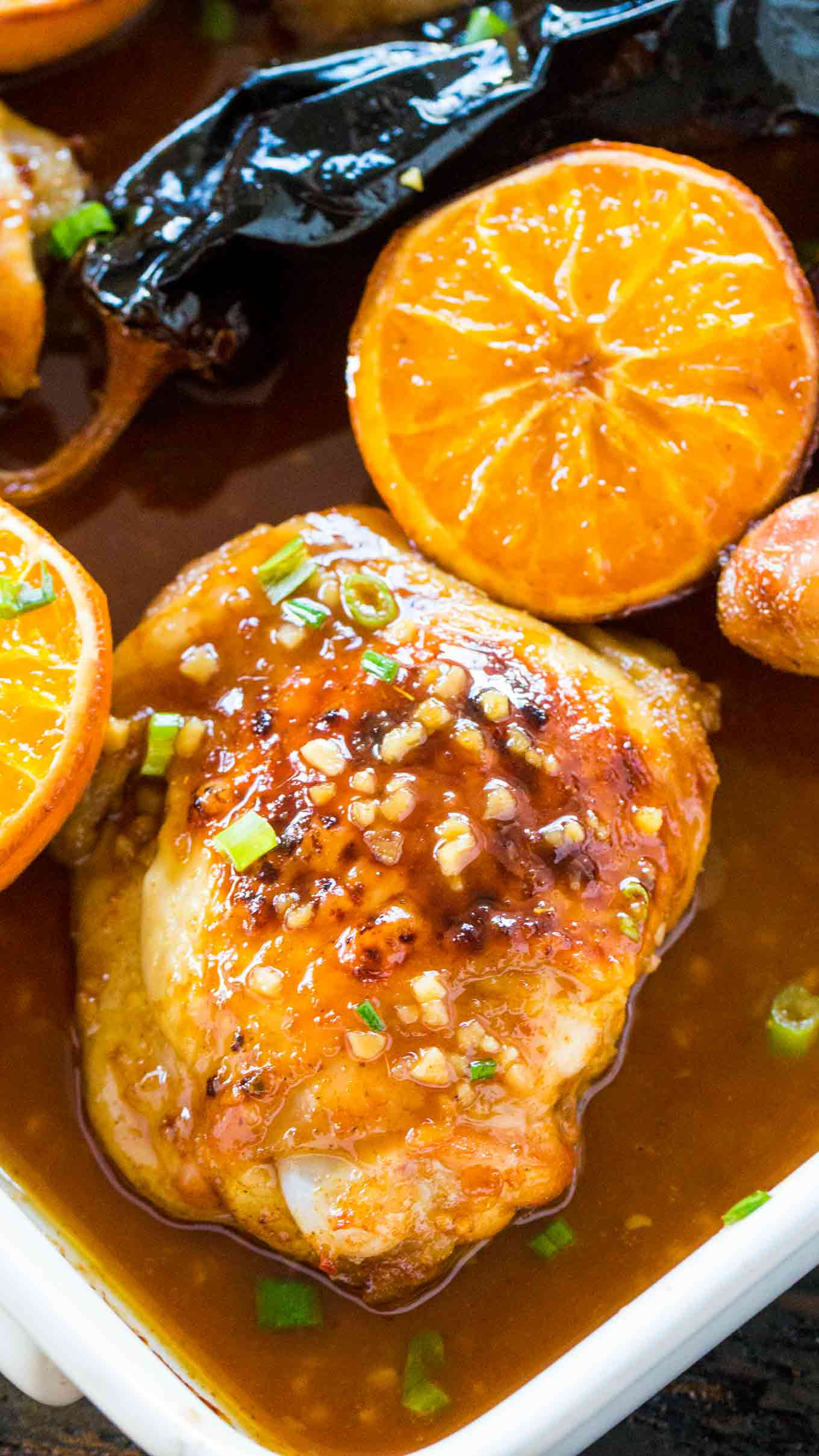 Chipotle Orange Chicken is sweet, spicy, crispy on the outside and tender on the inside. Also, easily made in one pan in just 30 minutes.