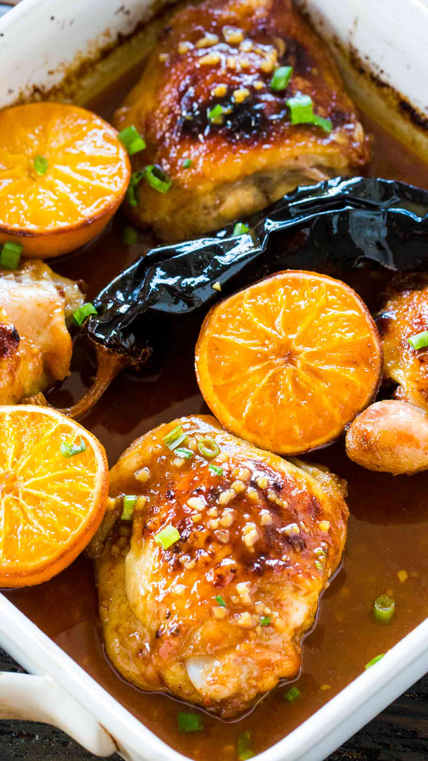 Chipotle Orange Chicken is sweet, spicy, crispy on the outside and tender on the inside. Easily made in one pan in just 30 minutes.