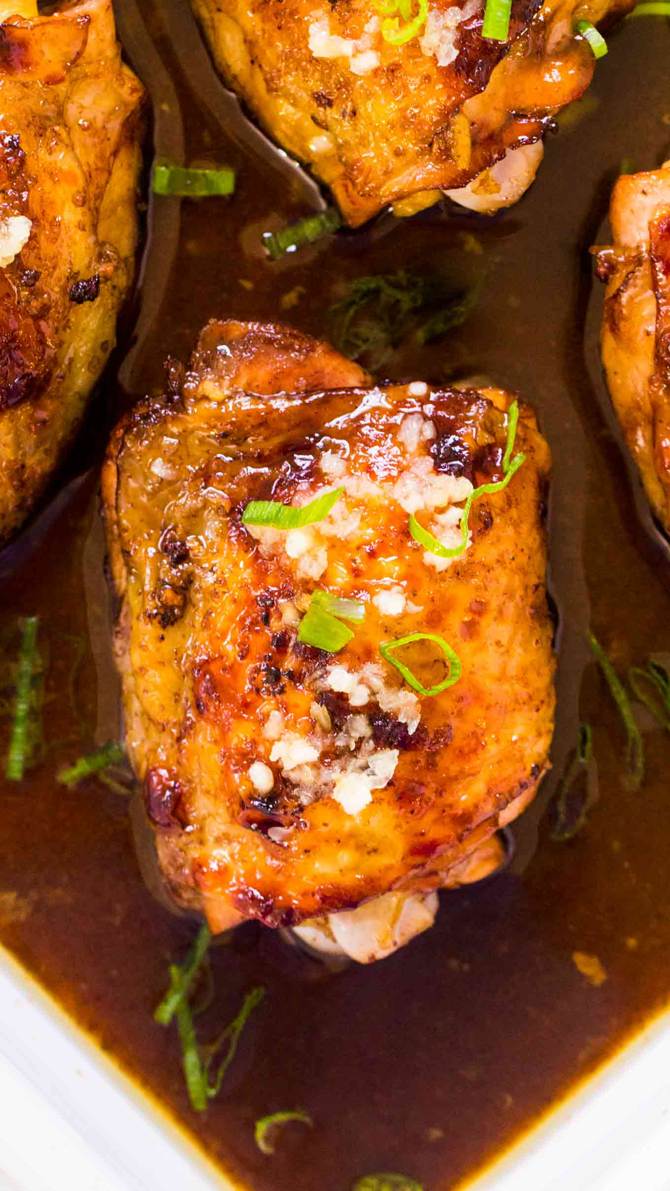 Amazing Honey Balsamic Chicken is very juicy and tender, coated in a tasty sweet and slightly tangy sauce, made in one pan in 30 minutes only!