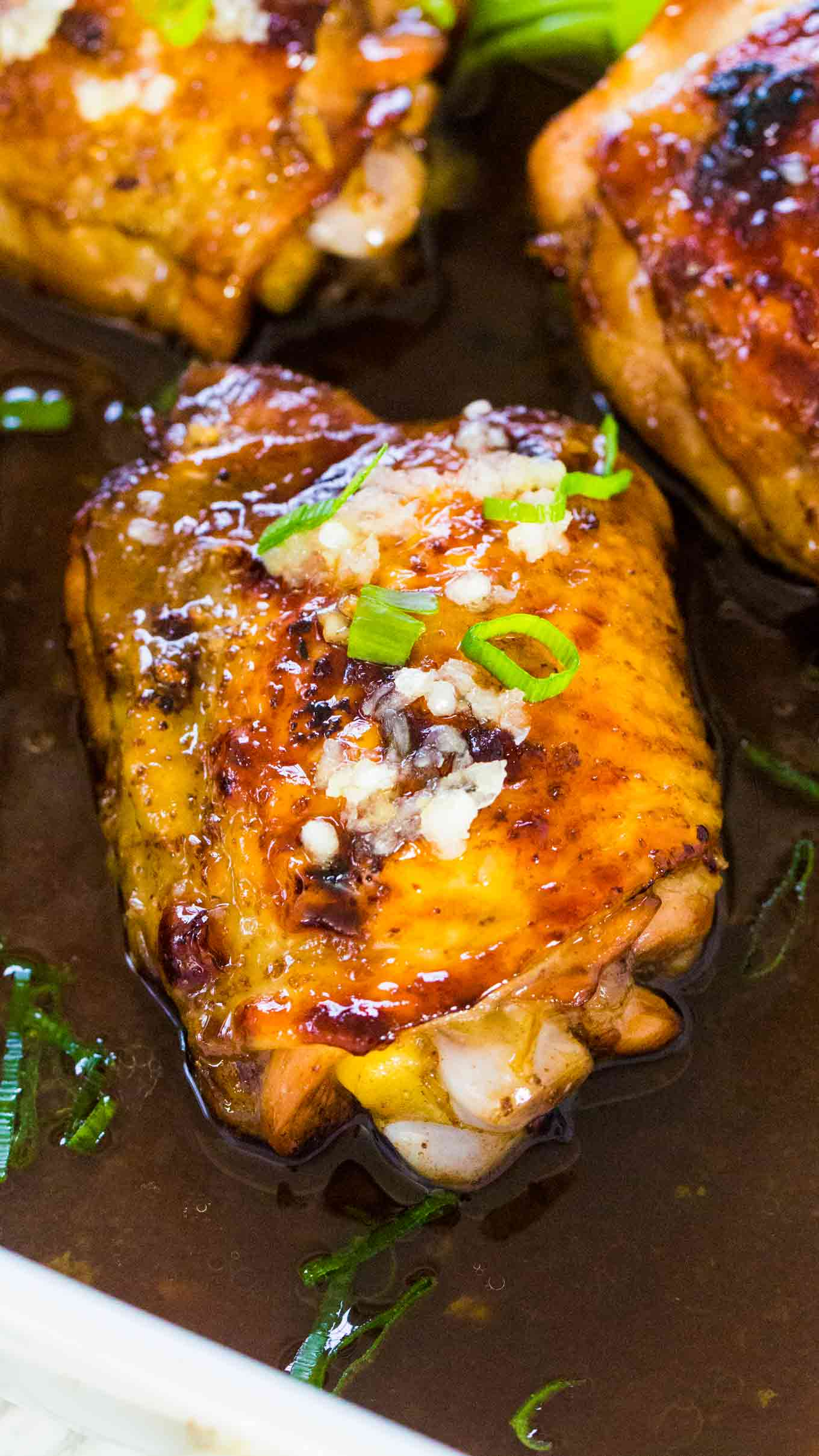 Honey balsamic glazed chicken
