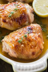 Baked Lemon Thyme Chicken