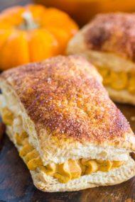 Easy Pumpkin Cream Puffs