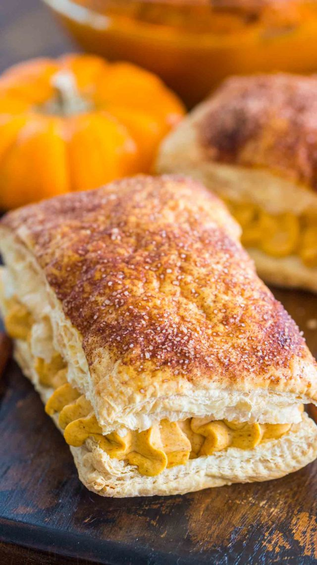 Easy Pumpkin Cream Puffs