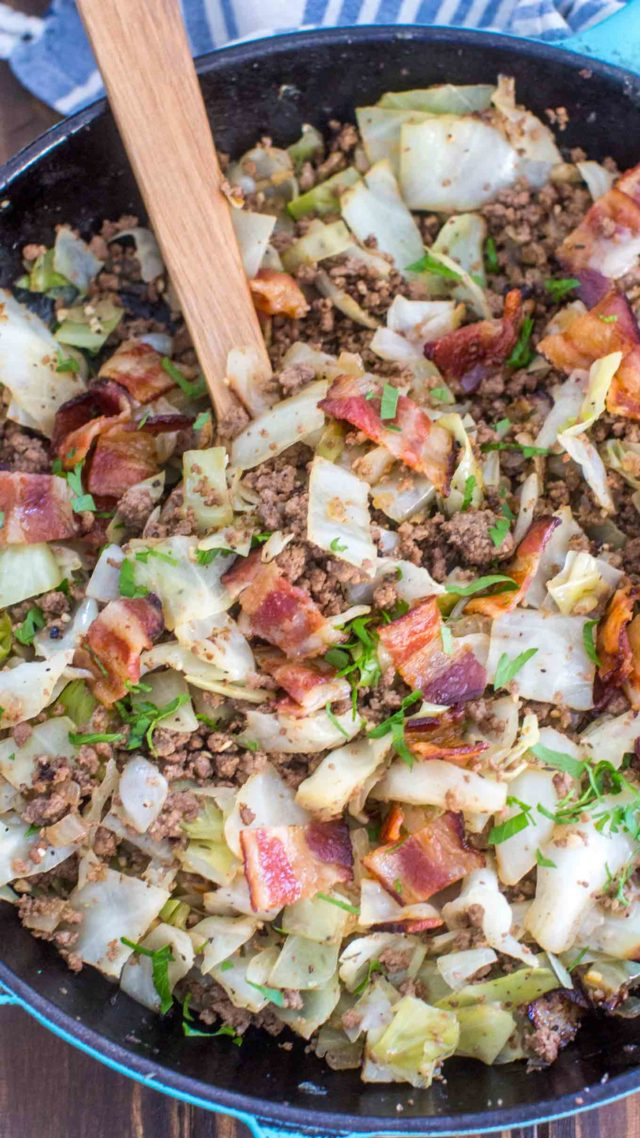 Ground Beef and Cabbage recipe