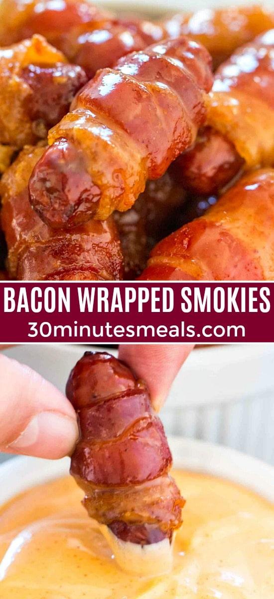 Bacon Wrapped Smokies