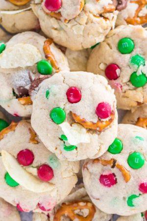 Christmas Trash Cookies