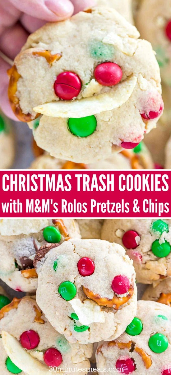 Christmas Trash Cookies