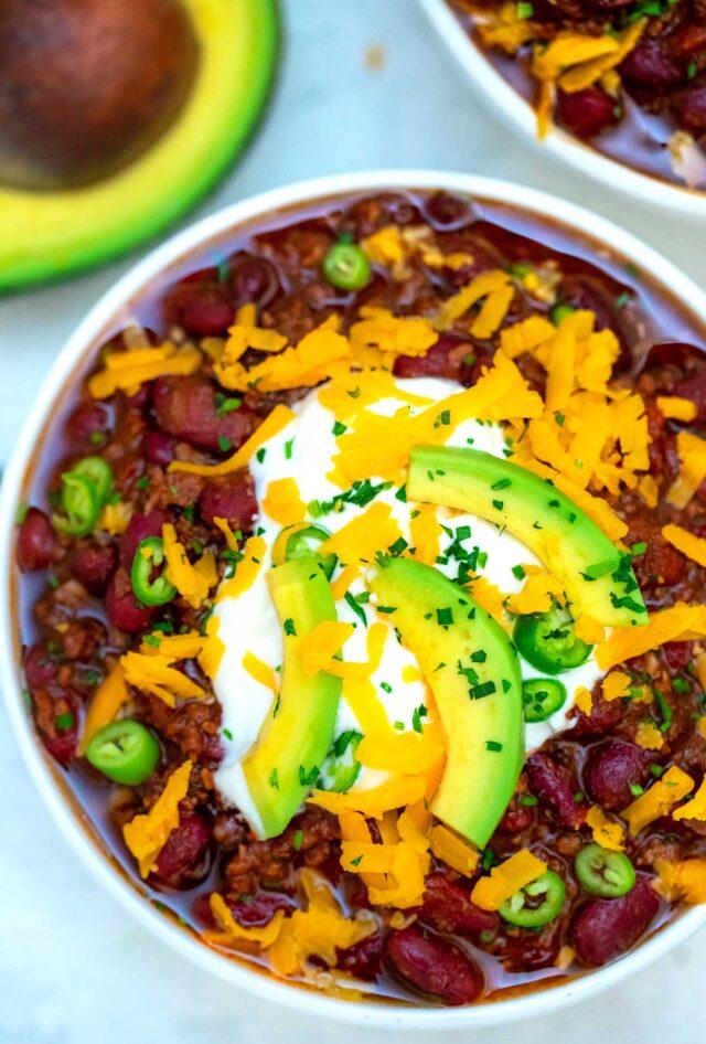 30 Minute Chili Recipe 30 Minutes Meals
