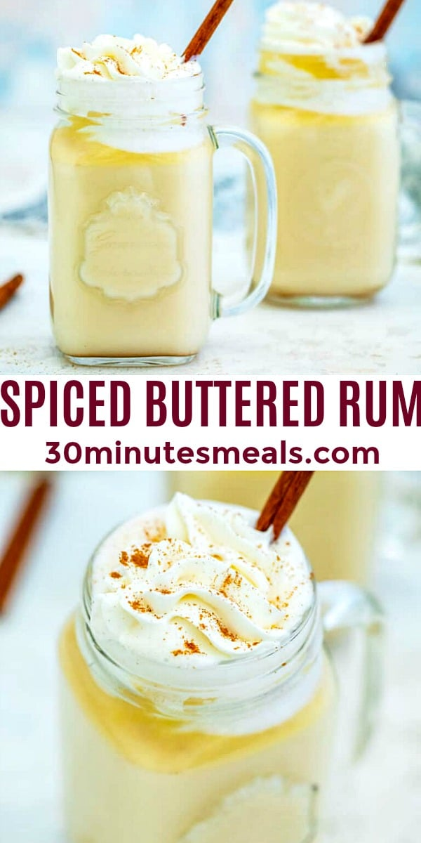 Easy Spiced Buttered Rum pin