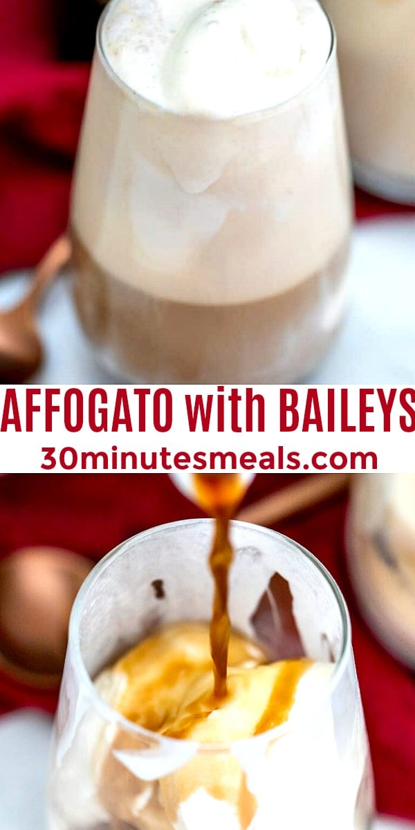 Photo of Affogato with Baileys