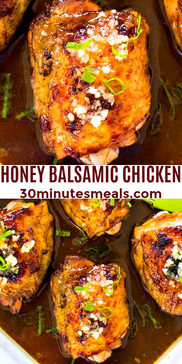 Photo of Honey Balsamic Chicken pin