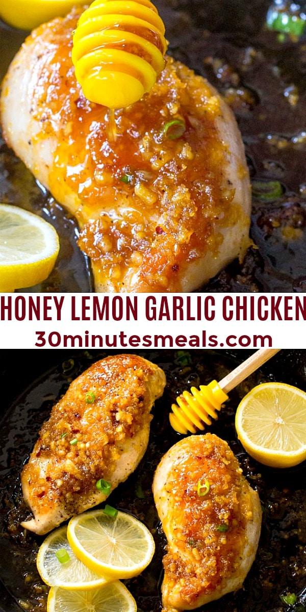 Photo of Honey Lemon Garlic Chicken pin