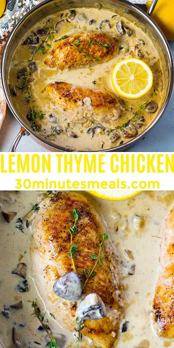 Photo of Lemon Thyme Chicken