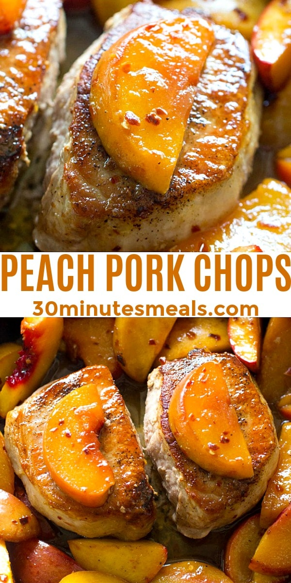Photo of Peach Pork Chops pin