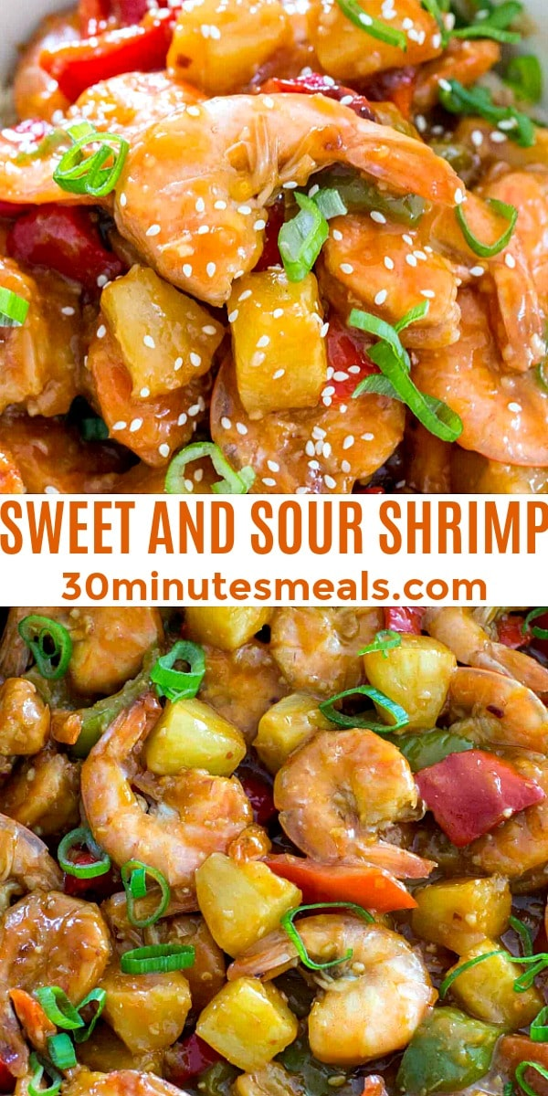Photo of Sweet and Sour Shrimp pin
