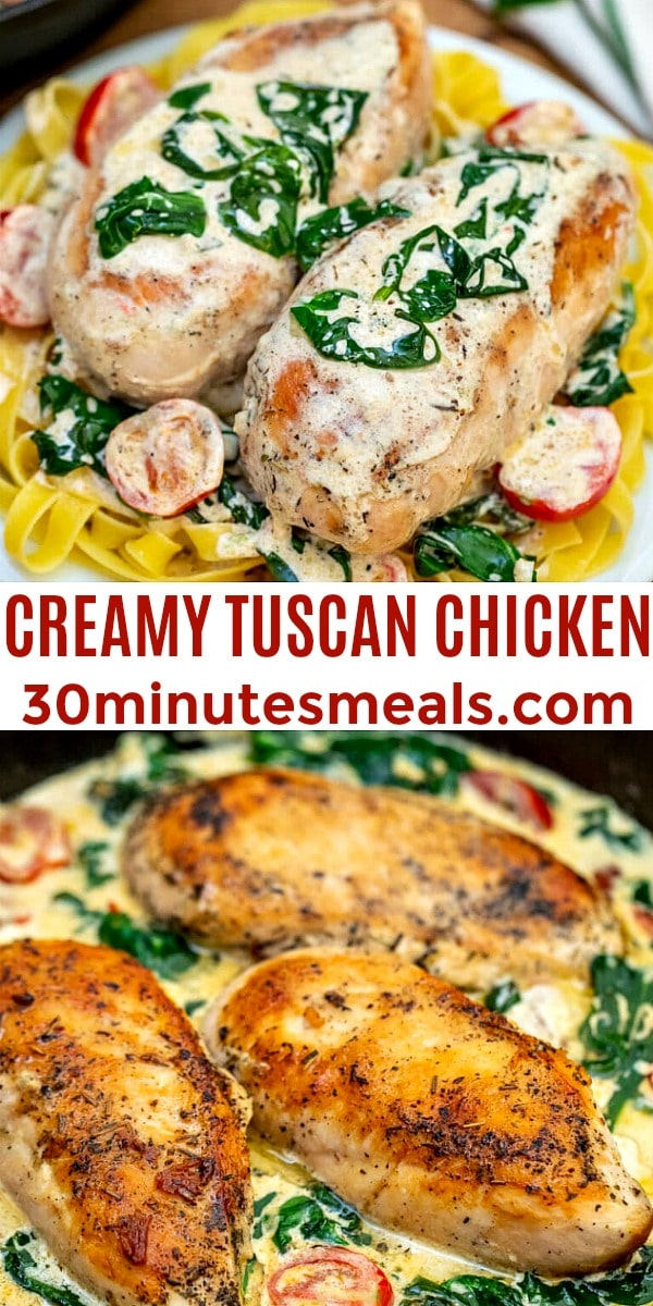 Photo of Creamy Tuscan Chicken