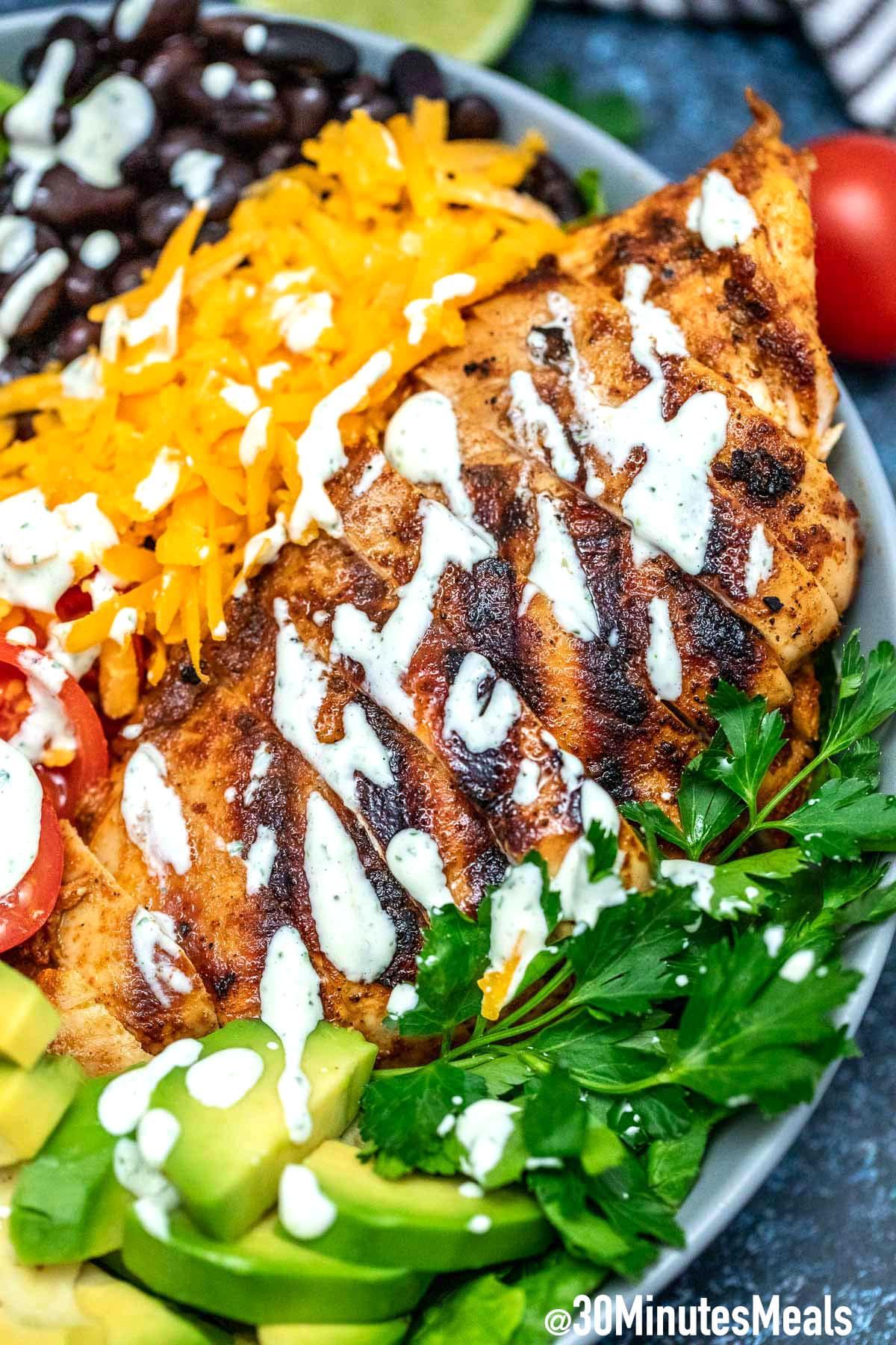 Photo of Chicken Southwest Salad
