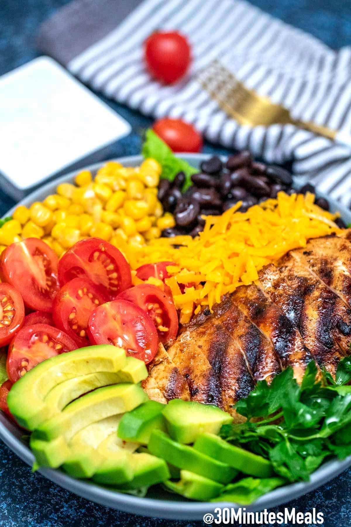 Photo of Easy Southwest Salad