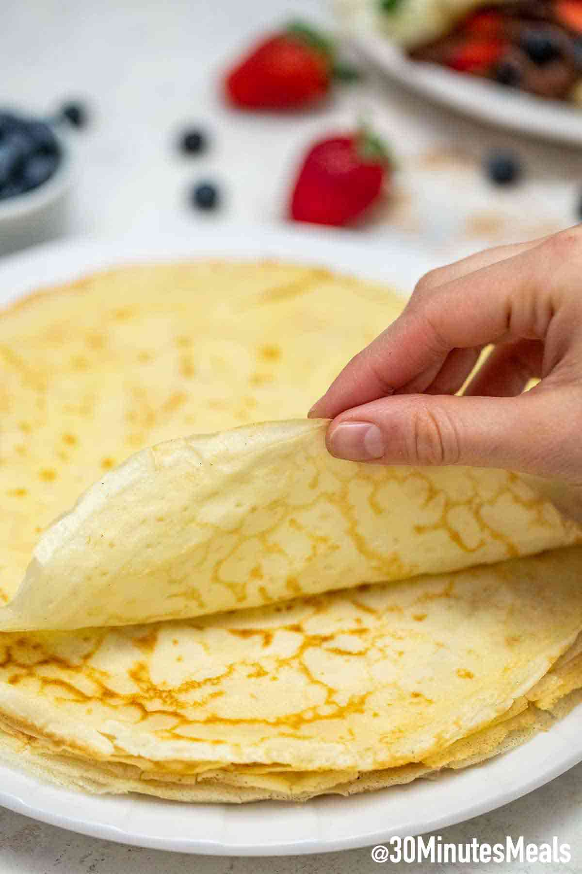 Photo of French Crepes