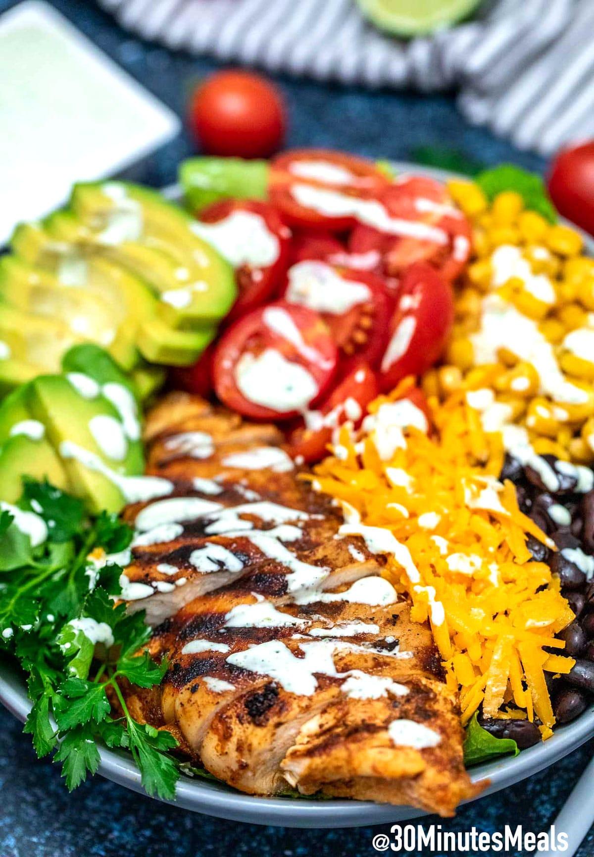 Photo of Homemade Southwest Salad