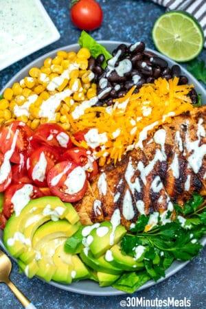 Photo of Southwest Salad Recipe