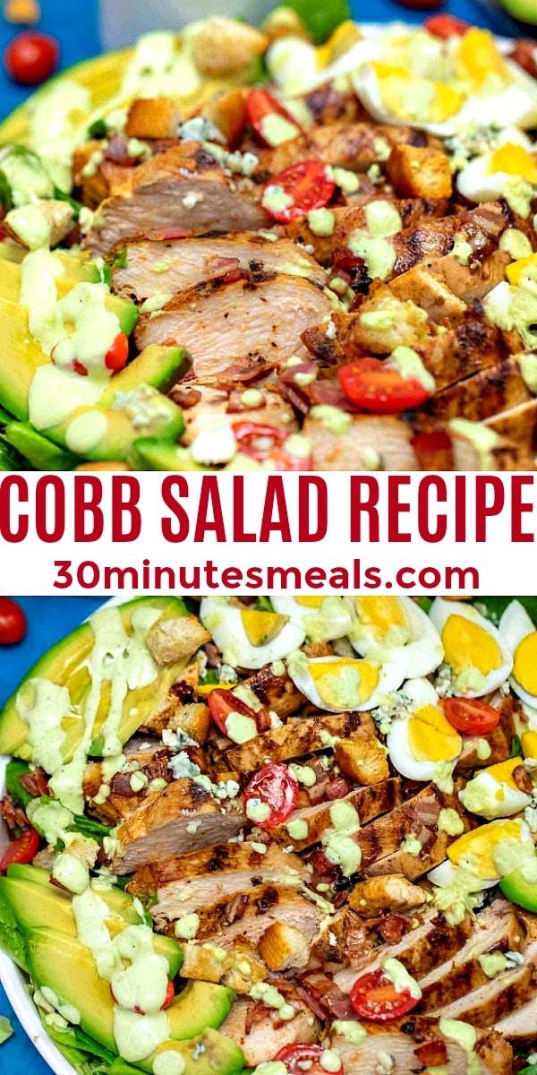 Easy Cobb Salad pin