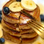 Oatmeal Pancakes with Fruit