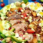 Easy Chicken Cobb Salad