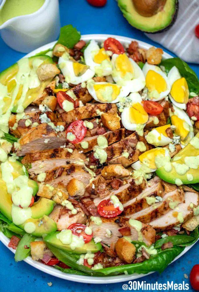 Easy Quick Cobb Salad Recipe
