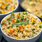 Easy Vegetarian Egg Fried Rice Recipe