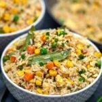 Easy Vegetarian Egg Fried Rice Recipe