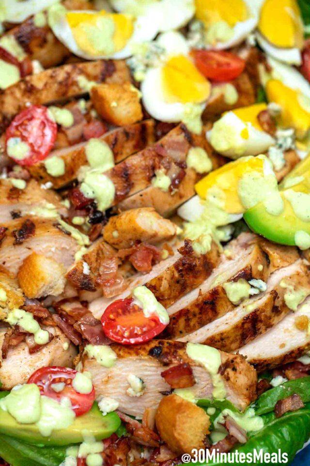 Easy Homemade Cobb Salad