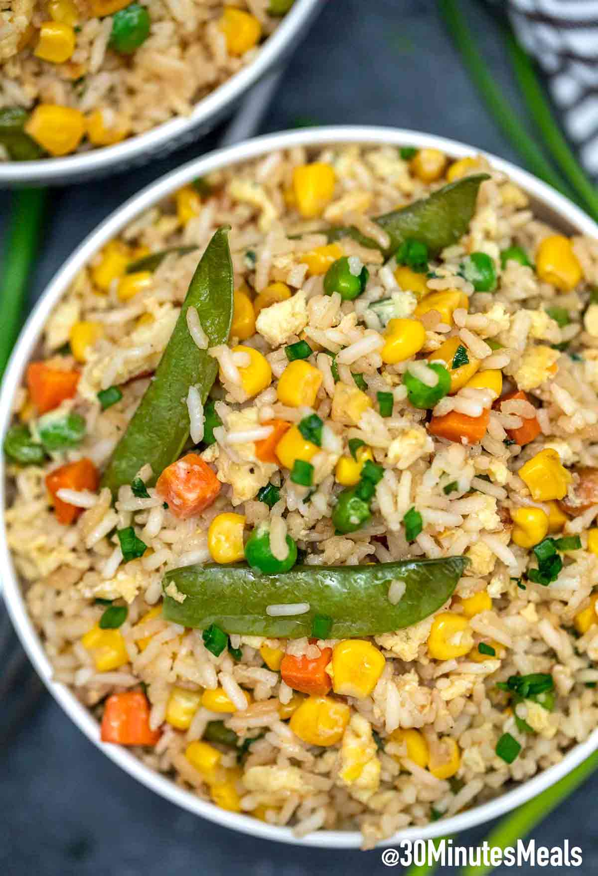 Egg Fried Rice with Veggies