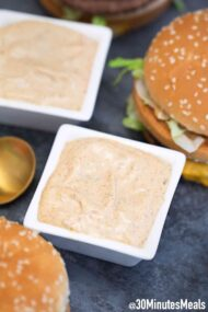 homemade Big Mac sauce