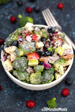 easy broccoli salad recipe