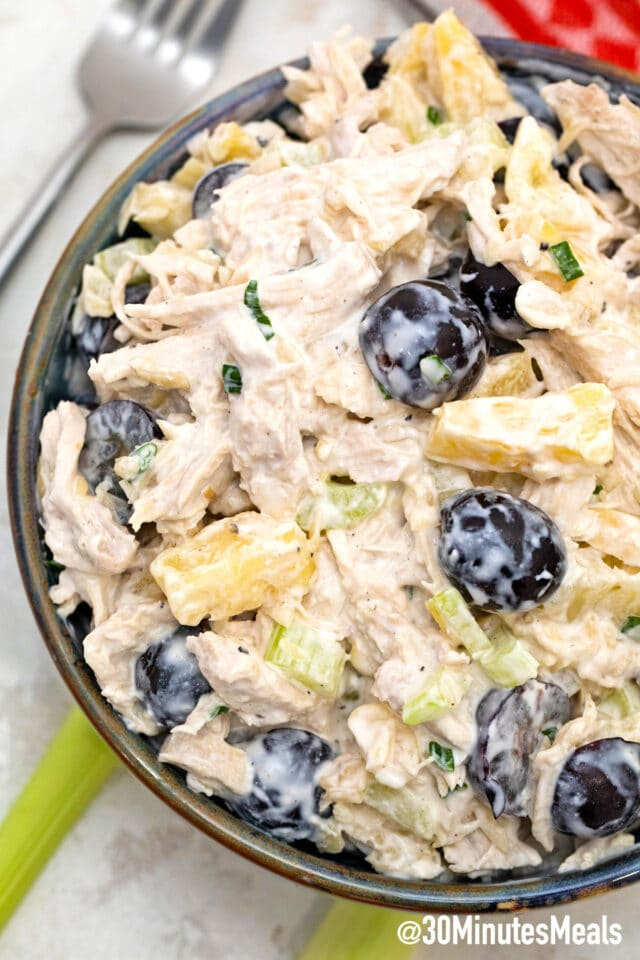 easy chicken pineapple salad