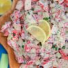 crab salad with mayo