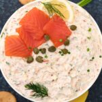 easy homemade smoked salmon dip