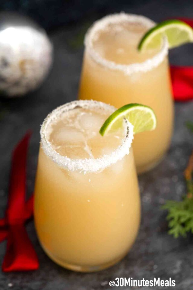easy coconut margarita