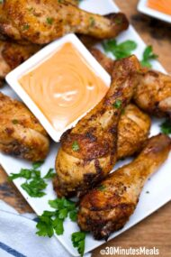 Air Fryer Chicken Drumsticks