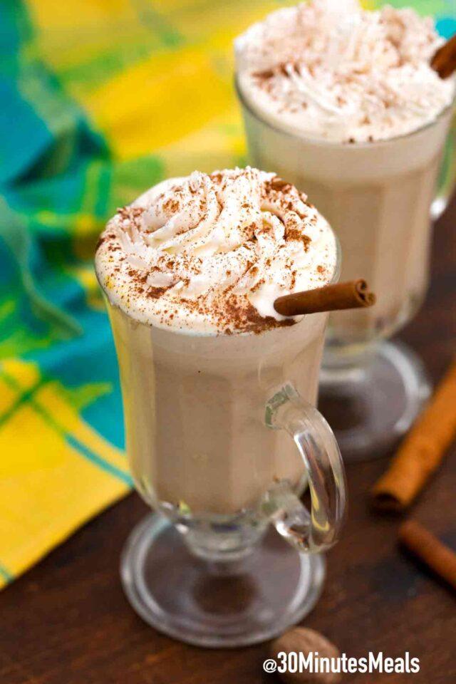 Starbucks pumpkin latte with whipped cream