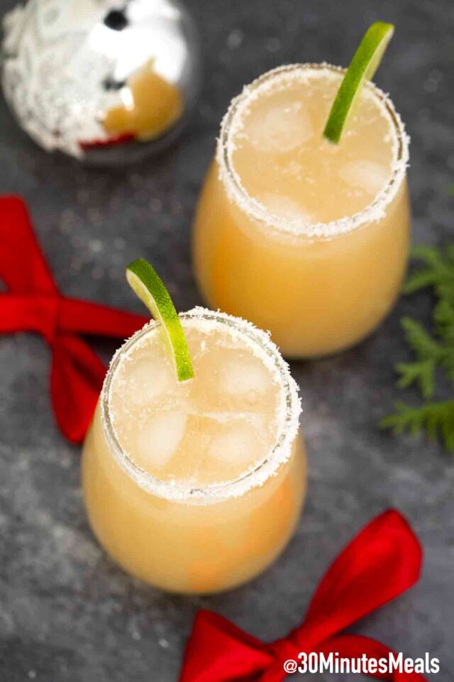 easy white christmas margarita recipe