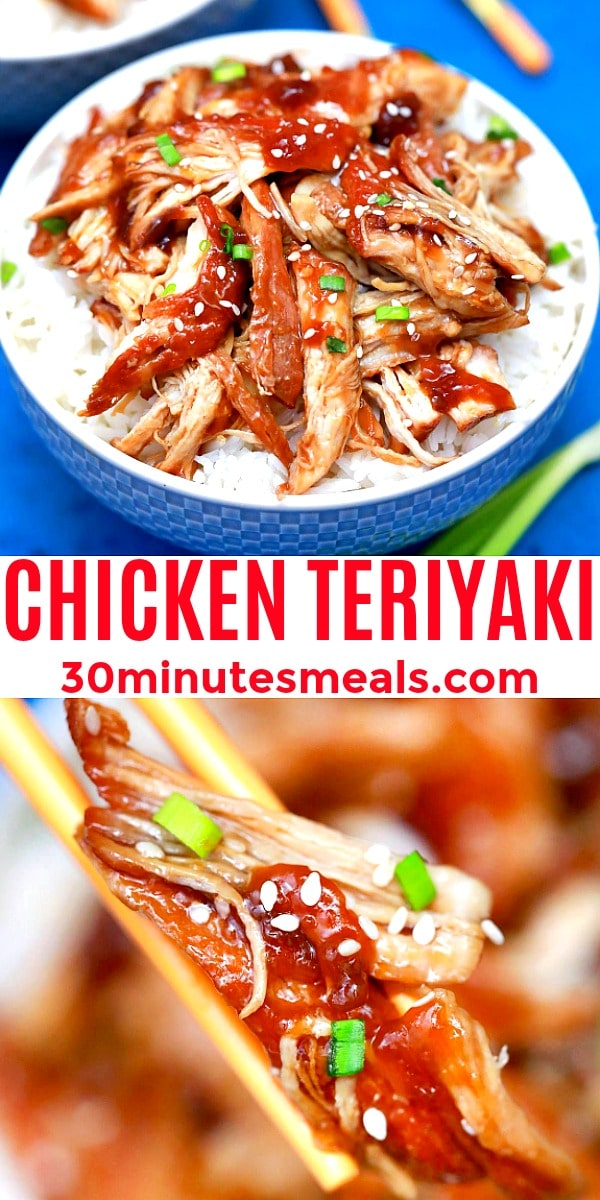 easy chicken teriyaki pin