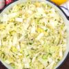 sautéed cabbage in a pan