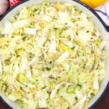 Healthy Sauteed Cabbage