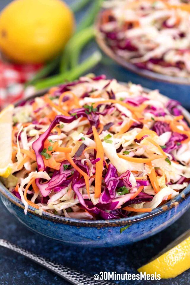 easy salad with cabbage