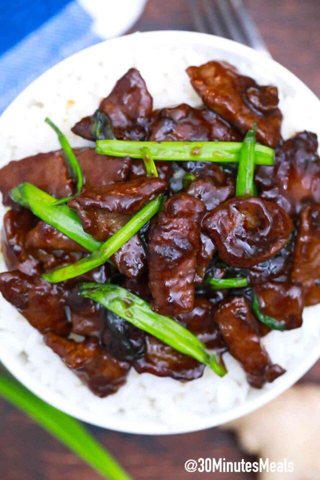 easy keto mongolian beef